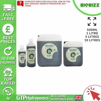 BioBizz Bio Grow 10L - Organic Plant Growth Nutrient Fertiliser - 10 Litres