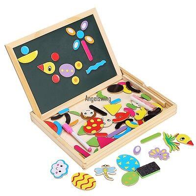 Holz Kinder Maltafel Kindertafel Magnettafel Kreidetafel Schultafel Tafel Spiel