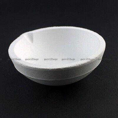1000g Grams SiO2 Silica Quartz Crucible Smelting Bowl Dish Melting Gold Silver