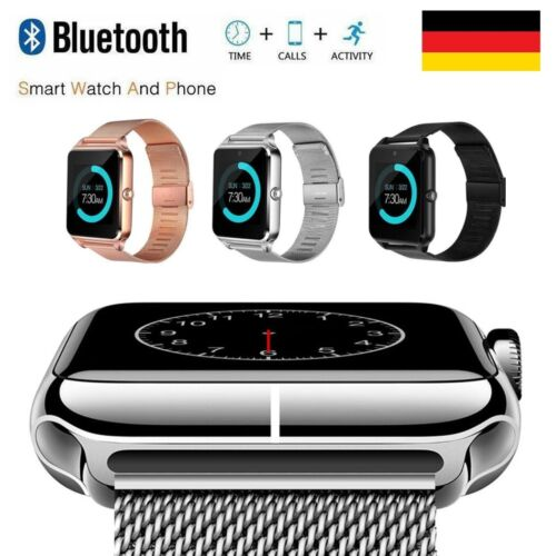 Fitness Armband Uhr Smartwatch + Aktivitätstracker Wasserdicht für Damen Herren