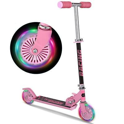 New Aluminum Alloy Kick Scooter Adjustable Height Best Gifts for Children RTW