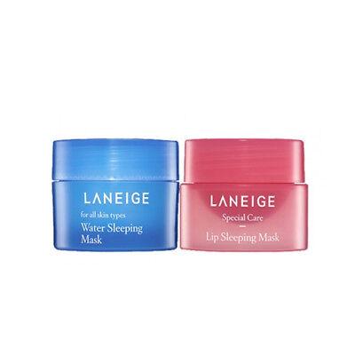 [LANEIGE_SP] Good Night Sleeping Care Set (Lip Mask 3g+Water Sleeping Mask 15ml)