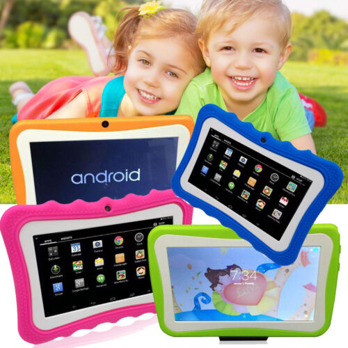 """7"""" Kids Tablet Wifi Camera Games for Children Toddlers Kid G"""