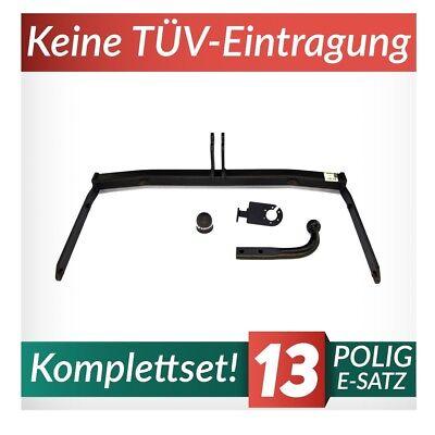 Für Ford Fiesta VI 3//5-Tür Fließheck Anhängerkupplung starr+ES 13p ABE