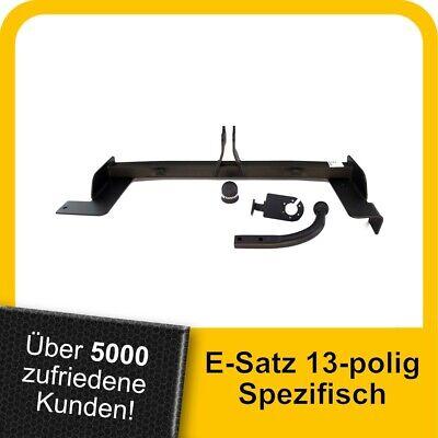 Für Volkswagen VW Caddy IV SA Anhängerkupplung starr+ESatz 13pol ABE