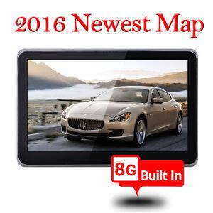 New 7 Inch GPS Car Navigation Systems 8GB SAT NAV Navigator Europe Map UK Stock