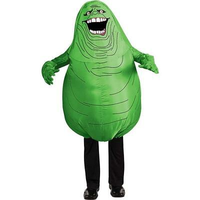 Ghostbusters Halloween Costumes Adults (Slimer Inflatable Ghostbusters Ghost Fancy Dress Halloween Deluxe Adult)