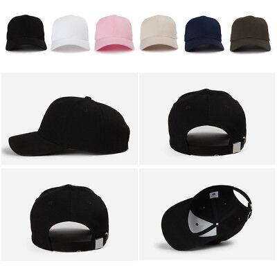 Unisex Mens Womens Unicolor Plain Blank Solid Color Baseball Cap Trucker Hats Blank Trucker Hats