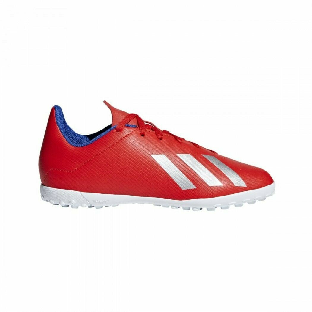 SCARPE ADIDAS CALCETTO BAMBINO ADIDAS X 18.4 TF JR EXHIBIT PACK ROSSO RED BB9417