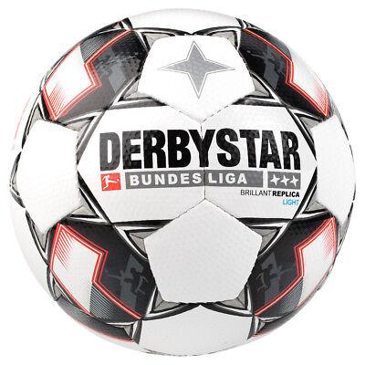 Derbystar Brillant Replica Light 350 Gramm Fußball Bundesliga 2018/2019 weiß