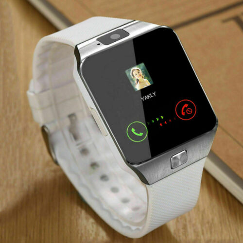 Bluetooth+DZ09+Smart+Watch+for+Android+%26+iOS+with+Camera+%26+SIM+Slot+UK+White