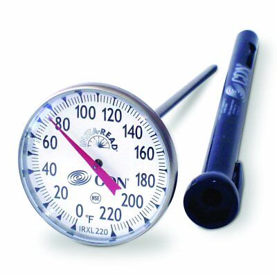 CDN ProAccurate Insta-Read NSF Large Dial Kitchen Thermometer Meat/Poultry
