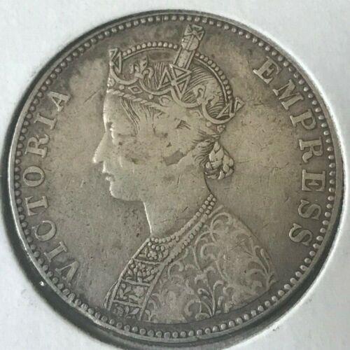 1892 India Princely States Bikanir Rupee