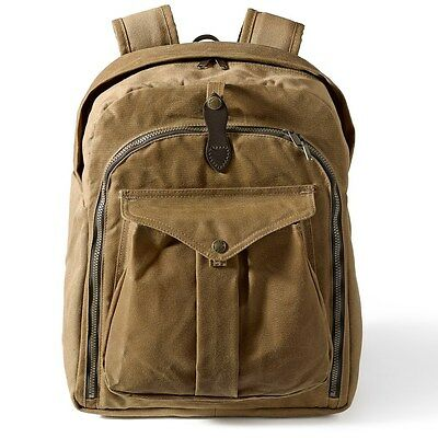 New With Tags Filson Photographers Camera Backpack Tan 70144 Hard To Find