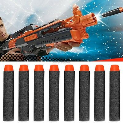 400pcs 7.2cm Toy Gun Refill Darts Bullet for Nerf N-strike Series Blasters New