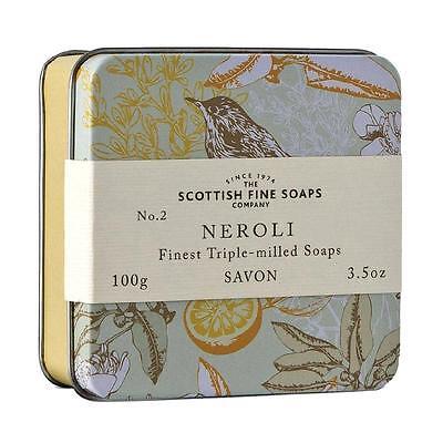 Scottish Fine Soaps Luxury Soap Neroli Soap In A Tin 100G 3 5Oz