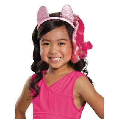 Pinkie Pie Ears Headband My Little Pony Fancy Dress Halloween Costume Accessory