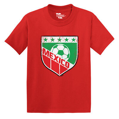 Mexico Soccer -Football Futbal Club Team Sports Ball Toddler/Infant T-shirt Football Sports Toddler T-shirt