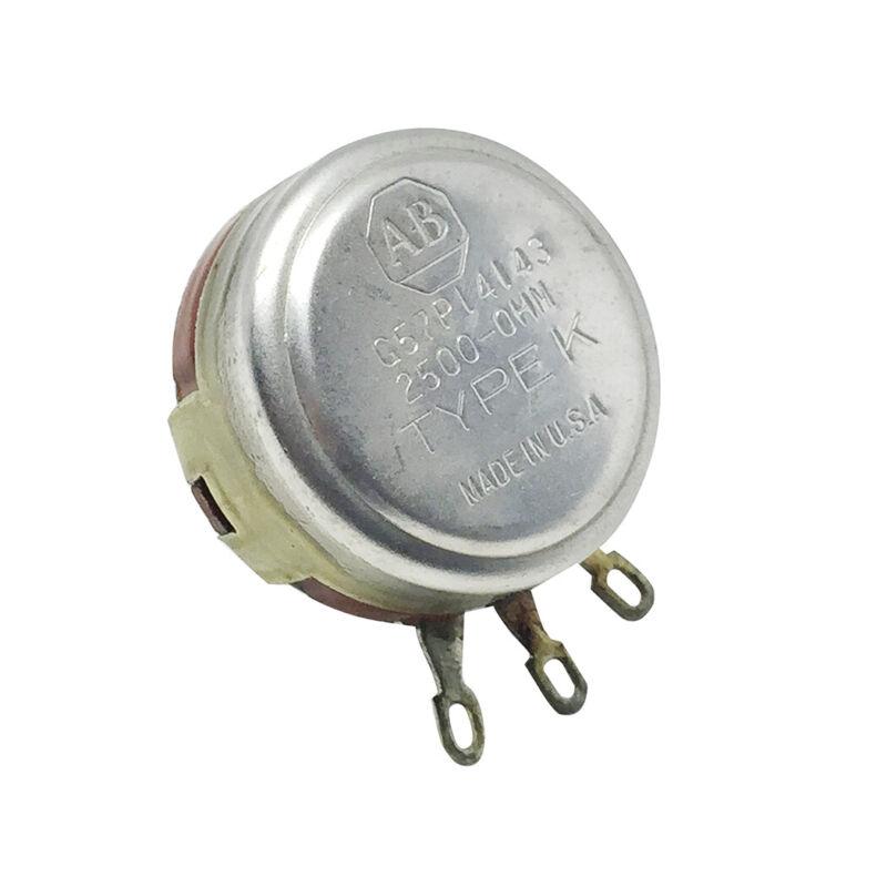 AB, 2.5k Ohm Linear Potentiometer,