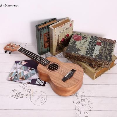 """NEU 21"""" Mahagoni Ukulele Hawaiische Gitarre Sopran Ukelele Mit Tasche Geschenke"""