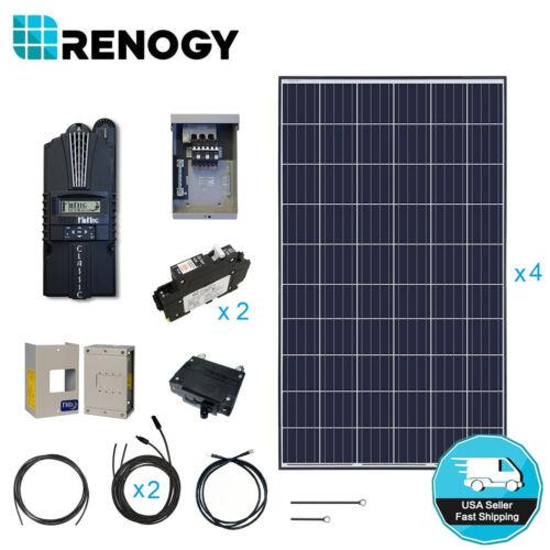 Renogy 1000w 12v Solar Panel Cabin Kit 1000 Watt Off Grid Pv System Midnite Mppt