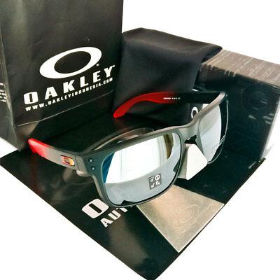 Oakley Holbrook Sonnenbrillen Ruby Fade/ PRIZM Black Iridium Polarized OO9102-D3