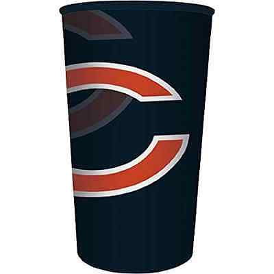 Chicago Bears NFL Pro Football Sports Banquet Party Favor 22 oz. Plastic Cup ()