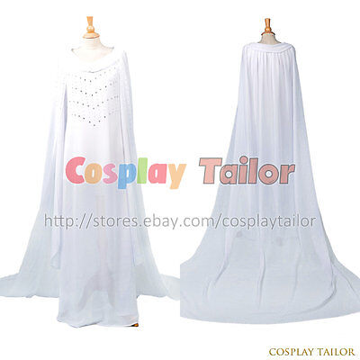 The Hobbit: The Battle of the Five Armies Galadriel The Lord of the Rings Dress  - Hobbit Costume Women