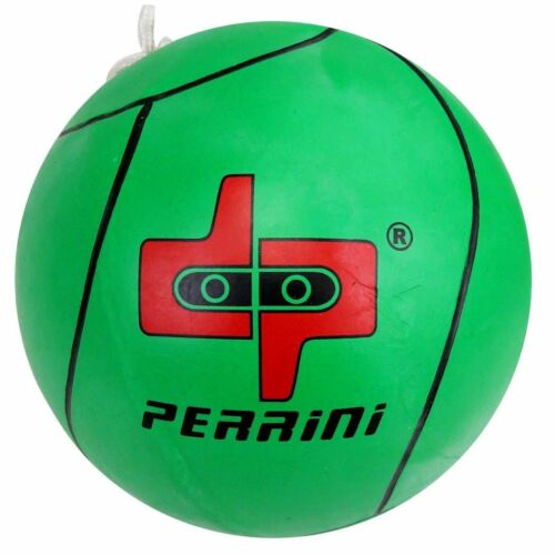 DP PERRINI TETHER BALL OFFICIAL SIZE OUTDOOR PLAY GREEN COLOR WITH ROPE INCLUDED