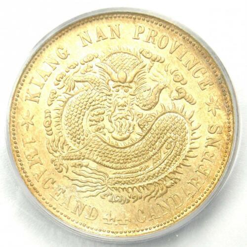 1901 China Kiangnan 20C Y-143a.6 - ICG MS62 - Rare BU UNC Certified Coin