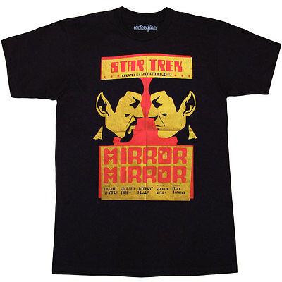 Star Trek Spock Mirror Mirror T-Shirt](Mirrored Star)