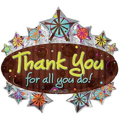 Thank You Marquee Stars Party Decoration 31