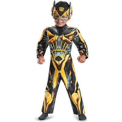 Transformer Dress Up (Bumblebee Light-Up Transformers Fancy Dress Up Halloween Toddler Child Costume)