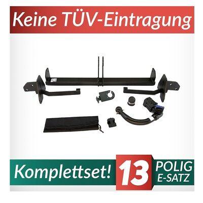 Anhängerkupplung starr Für Opel Combo C 02-12 13-pol E-Satz