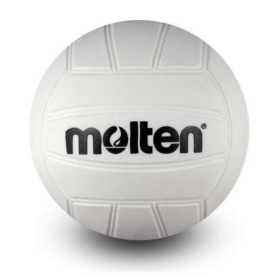 Molten Mini Volleyball White 4-Inch Diameter