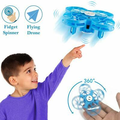 Flying Toys Drones for Kids, WEW Hand Operated Mini Drone for Adult, Flying Dron