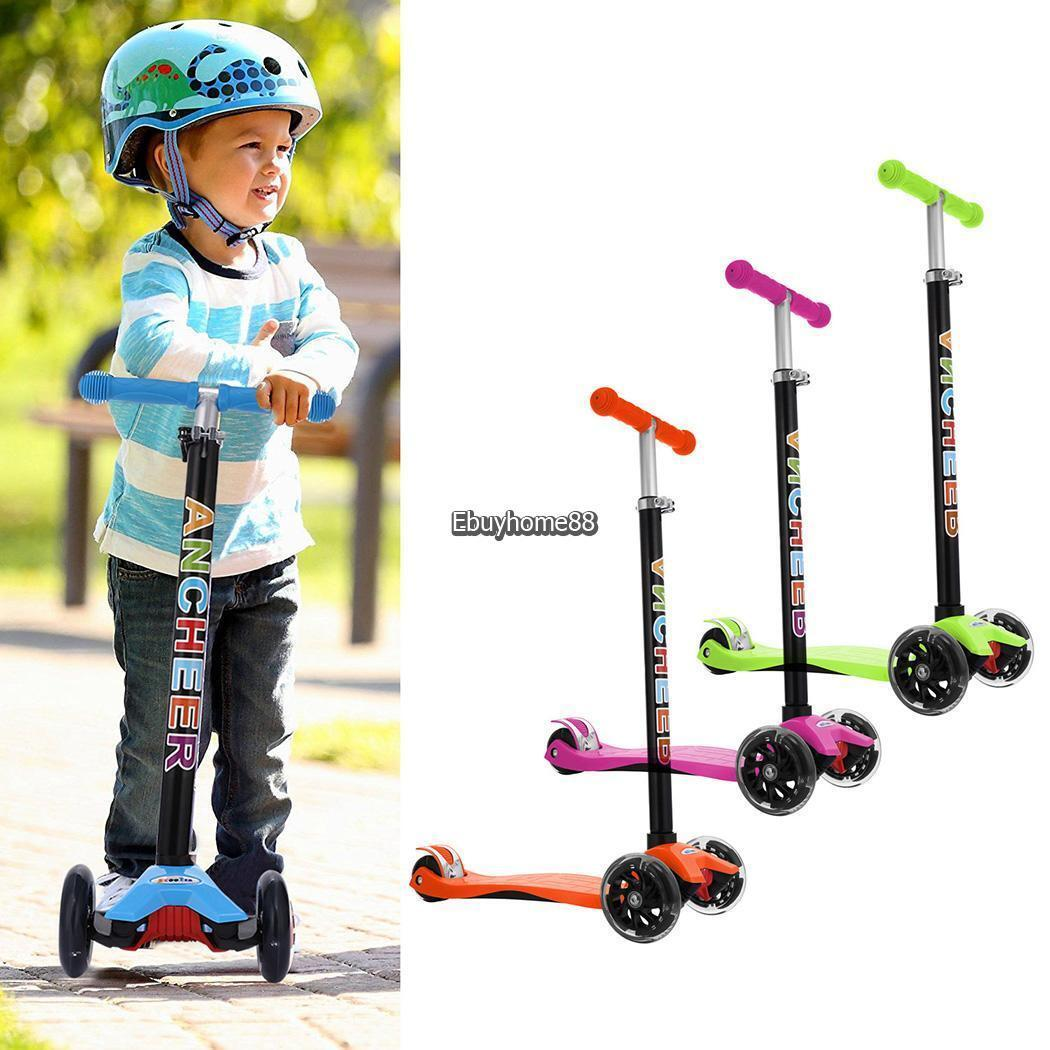 Folding Kick Scooter for Kids 2~16 years old- Deluxe 3 Wheel