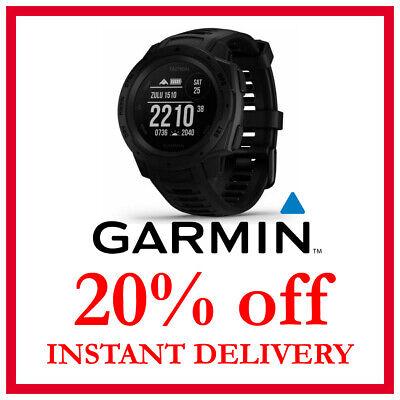 Garmin Instinct Tactical Watch DISCOUNT 20% OFF (READ DESCRIPTION)