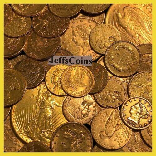 ✯OLD US GOLD COINS SALE ✯1x ESTATE LOT✯ $2.5 $3 $5 $10 $20 ✯ P,D,S, CC PRE-1933✯