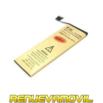 Bateria Para iPhone 5C Alta Mas Capacidad 2680Mah 3.8V Gold Battery Repuesto