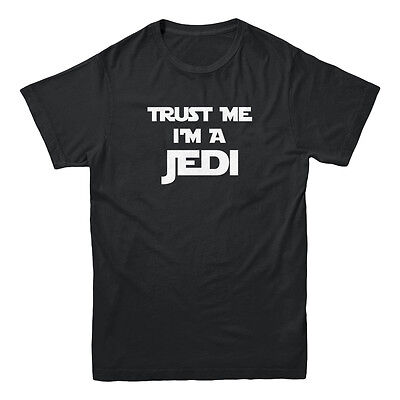 Trust Me I'm A Jedi Star Wars Parody Force Skywalker Funny Movie Men's T-shirt (Star Wars Tshirts)