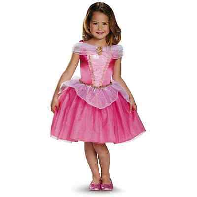 Aurora Sleeping Beauty Disney Princess Fancy Dress Up Halloween Child Costume (Sleeping Beauty Halloween Costume Child)