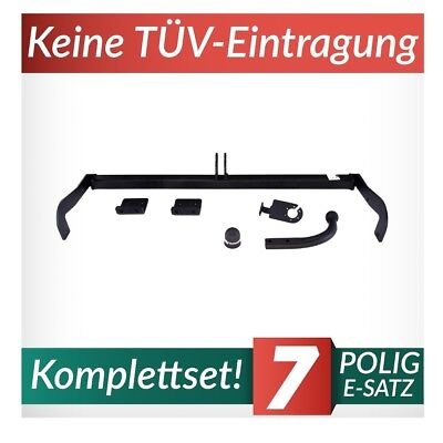 EBA Elektrosatz NEU ABE inkl Anhängerkupplung starr SAAB 9//3 Kombi
