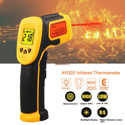 Non-Contact Infrared IR Thermometer Temperature Laser Gun Tester Thermometer US
