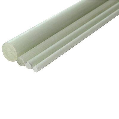 GFK Glasfaser Stab 10 mm pultrudiert Länge 1000 mm