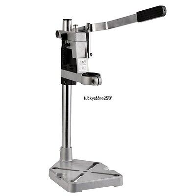 Aluminum Rotary Drill Press Stand And Work Station Drilling Collet 43mm -NEW US