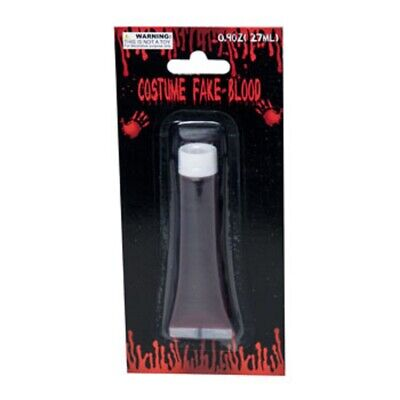 Halloween Vampire Faces (Fake Blood Halloween Vampire Zombie Face Make Up Fancy Dress Theatrical)