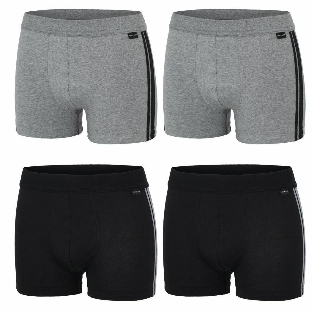 SCHIESSER 2er Pack Herren Boxershorts, Shorts, Pant, Unterhose, Unterwäsche, Neu