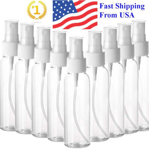 Transparent Plastic Perfume Empty Spray Bottle 100ml x12