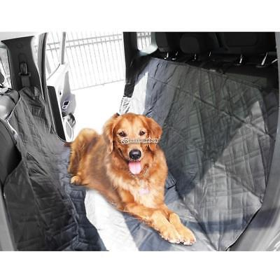 Large Deluxe Quilted Padded Hammock Car SUV Back Seat Cover for Pet Dogs B98B
